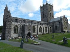 Cathedral, St. David's, Wales