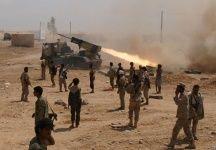 """#موسوعة_اليمن_الإخبارية l أكثر من100 جثة عاد بها الحوثيون بعد أن خسروا مواقعهم في """"ميدي"""""""