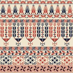 Cross Stitch Borders, Modern Cross Stitch Patterns, Cross Stitch Designs, Textile Pattern Design, Textile Patterns, Pattern Art, Embroidery Motifs, Embroidery Designs, Fairy Wallpaper