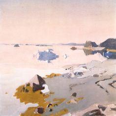 Fairfield Porter, The Kittiwake and the John Walton, 1962