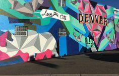 Street Art Locations in Denver, CO