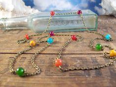 joyful bohemian necklace    http://www.etsy.com/listing/83328592/joyful-bohemian-gypsy-stone-necklace