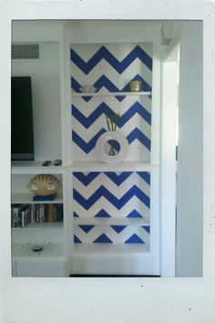 chevron bookshelves with colored contact paper black contact paper project