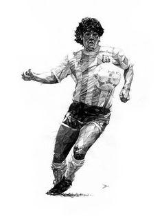 Retratos de DAVE MERRELL Soccer Poster 299f4486f30