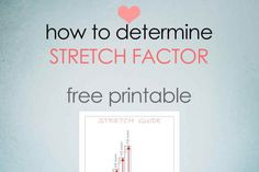 how to work out stretch factor