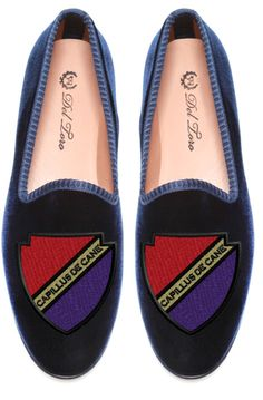 "The English Room Blog / Wednesday Wants: Del Toro Smoking Slippers / ""Hair of the Dog"" loafer"