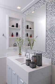 Banheiros Modernos: 55 Fotos e Inspirações para o Ambiente 2020