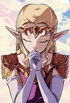 Zelda Ocarina Of Time by Arumy