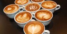 De mooiste koffie-kunst