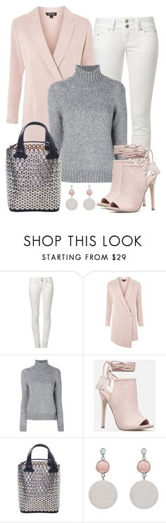 """Untitled #1528"" by gallant81 ❤ liked on Polyvore featuring LTB, Topshop, Dondup, JustFab and Alaïa"
