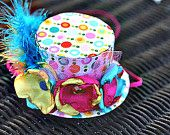 Alice in Wonderland mini Top Hat