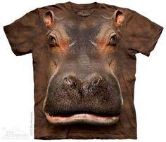 Hippo Head T-shirt   Big Face T-shirts   The Mountain®