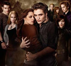 Bella with the Cullen clan......