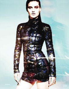 New Metal: Kelsey Gerry By Jan Welters For Uk Elle May 2014