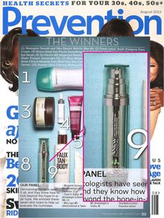 avoninsider:  AVON IN THE NEWS Beauty Alert: Avon ANEW Clinical Absolute Even Multi-Tone Skin Corrector was named a Prevention Beauty Award ...