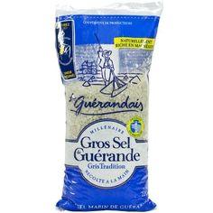 Coarse Sea Salt From Guerande - Gros Sel De Guerande - Le Guerandais - 35,27 oz - http://spicegrinder.biz/coarse-sea-salt-from-guerande-gros-sel-de-guerande-le-guerandais-3527-oz/