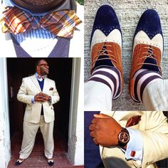 With the style of the suit I was Inspired by Detroit's classic style of the 1940's/50's. This is how we do it there in #TheD, #Detroit, lol. The Details: Suit: Sean John BowTie: TheTieBar.com Shoes:...