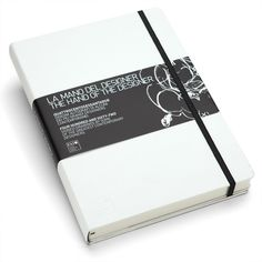 Moleskine. Hand of the Designer. Limited Ed. notebook. I love journals, notebooks, blank books, etc.. and these Ltd. Ed. Hand of the Designer Moleskines are gorgeous. Plus they include original designs donated by known designers. Must get my hands on one of these.