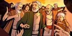 Moisés vuelve a Egipto   Historia bíblica ilustrada