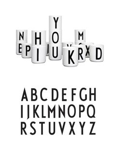 ALFABET CUPS - Alphabet Cups