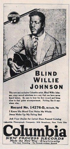 Blind Willie Johnson  https://www.youtube.com/watch?v=t5HaHVKRouo