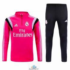 boutique officiel nouveau Survetement Real Madrid Rose 2016 pas cher