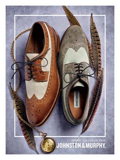 Johnston Murphy Spring 2015 Mens Shoes Featuring Classic Wingtips Captoes Shoes For The Office The Weekend & Around Town  Contact Erik Peterson For Your Personal Recommendations 727-916-7848 Tampa Sarasota Lakeland Clearwater St Petersburg Florida