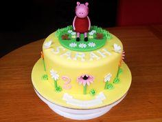 Peppa pig cake i made today