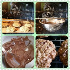 #tiptuesdays if you want to pipe or cover your biscuits with chocolate put the chocolate into a metal or ovenproof dish. Take your biscuits out turn off the oven and put your chocolate in the oven. While your biscuits cool your chocolate melts  #fabbakingschool #loughton #essex #london