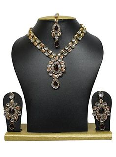 VVS Jewellers Red Stone Kundan Indian Bollywood Gold Plat... https://www.amazon.com/dp/B0747MRH3W/ref=cm_sw_r_pi_dp_U_x_lWoJAb79Y47XB