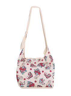 b6604f1b19 Loungefly Disney Alice In Wonderland Tattoo Cheshire Cat Hobo Bag