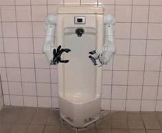 Urinoir robotisé
