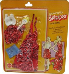 *1975 Growing up fashions Skipper outfit 2