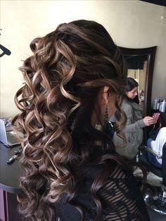 Big Curls For Long Hair, Long Curly Hair, Wavy Hair, Blonde Hair, Thick Hair, Loose Curls Hairstyles, Pretty Hairstyles, Gorgeous Hair, Long Hair Styles