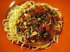 Spicy Thai Noodles #vegan recipe