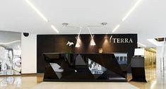 Terra headquarters by Scenario Interior Architects, Oslo office design |  Reception desk
