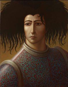 Miro by George Underwood,  Oil on Linen, 109cm x 86cm