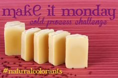 Natural Colorants for Homemade Soap