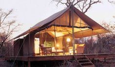 glamping in South Africa.