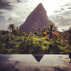 Piton views in St. Lucia. Photo courtesy of vampireplayground on Instagram.