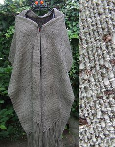 Handwoven Khaki Wrap - Scarves, Wraps & Accessories - The Crafty Cailín