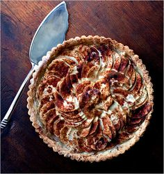 Food-processor apple tart. Click on the image for the complete recipe. Photo: Andrew Scrivani for The New York Times