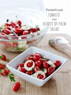 FoodieCrush magazine Hearts of Palm Salad