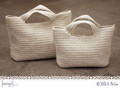 The Starling Handbag - #crochet