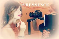 **Backstage** Models at work preparing the new video sponsoring Dressence's event in Rome. Stay tuned Christmas is coming. Find a new way to shop online and join our community!!  maybe the next model or stylist could be you!