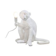 Seletti Lamp Monkey Zittend | Klevering