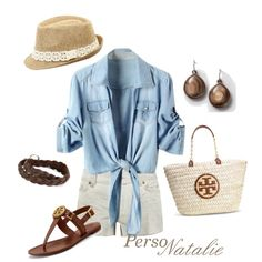 casual summer, created by natalie-buscemi-hindman on Polyvore