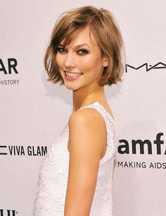 Apparently I inadvertently have cool hair. Never heard of Karlie Kloss before but she stole my haircut, ha!