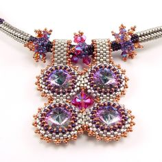 Crystal Squared Pendant