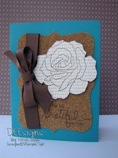 #99  Deesigns by Nina Dee: Quick and Easy Card